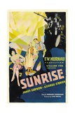 Sunrise: a Song of Two Humans, 1927 Giclée-Druck