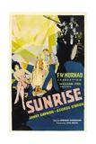 Sunrise: a Song of Two Humans, 1927 Impressão giclée
