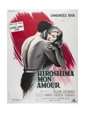 Hiroshima Mon Amour, 1959 Reproduction procédé giclée