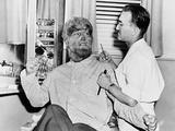 Frankenstein Meets the Wolf Man, 1943 Fotografisk tryk