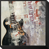 Rock n Roll II Framed Print Mount by David Fischer