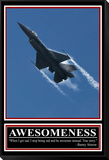 """""""Awesomeness"""" Barney Stinson Quote Framed Print Mount"""