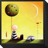 Dreaming Lámina montada y enmarcada por Jo Parry