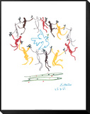 The Dance of Youth Framed Print Mount by Pablo Picasso