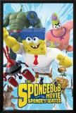Spongebob Movie - Characters アートポスター