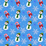 Watercololor Christmas Pattern Posters par  lenavetka87