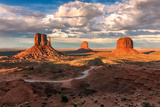 Monument Valley, Arizona Reproduction photographique par  lucky-photographer