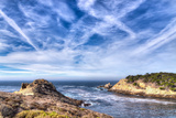 Cyprus Cove at Point Lobos Park Reproduction photographique par  Wolterk