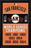 San Francisco Giants - Champions 高画質プリント
