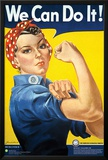 Smithsonian- Rosie The Riveter Pôsters