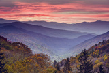 Smoky Mountains National Park in Tennessee, USA Reproduction photographique par  SeanPavonePhoto