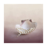 Pearls on a Shell Giclee Print by Jai Johnson