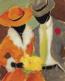 Celebrating Love II Giclee Print by  Dupre