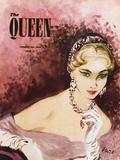 The Queen, February 1953 Gicléedruk van  The Vintage Collection