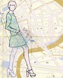 Carte de la Mode I Stampe di Clara Wells