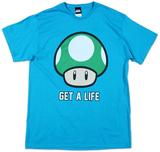 Nintendo - Get A Life Maglietta