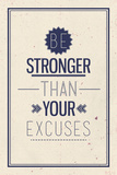 Vintage Motivational Quote Poster Stampe di  Vanzyst