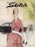 The Sketch, June 1956 Gicléedruk van  The Vintage Collection