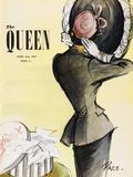 The Queen, April 1949 Gicléedruk van  The Vintage Collection