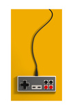 Vintage Gaming Controller Giclée-Druck von  alswart