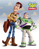 Toy Story (Woody & Buzz) Kunstdrucke