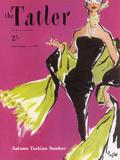 The Tatler, September 1955 Gicléedruk van  The Vintage Collection