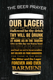 The Beer Prayer Affiches