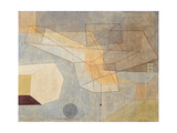 Gliding; Gleitendes, 1930 Giclée-tryk af Paul Klee