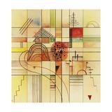Varied Rectangles, 1929 Giclee-trykk av Wassily Kandinsky
