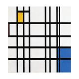 Composition with Blue, Red and Yellow, 1935-42 Giclée-vedos tekijänä Piet Mondrian