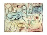 Old Love Song; Altes Liebeslied, 1924 Giclee-trykk av Paul Klee