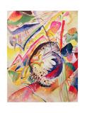 Large Study, 1914 Gicléedruk van Wassily Kandinsky