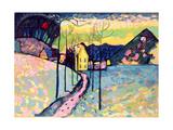 Winter Landscape, 1909 Lámina giclée por Wassily Kandinsky