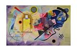 Yellow, Red, Blue, 1925 ジクレープリント : ワシリー・カンディンスキー