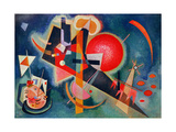 In Blue, 1925 Giclée-tryk af Wassily Kandinsky