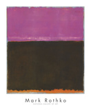 無題, 1953 高画質プリント : マーク・ロスコ