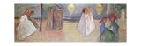 Summer Night, 1906-1907 Giclée-vedos tekijänä Edvard Munch