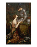 Lamia Arte por John William Waterhouse