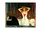 Ashes Giclée-vedos tekijänä Edvard Munch