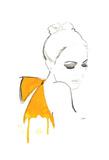 The Yellow Bow Affiches par Jessica Durrant
