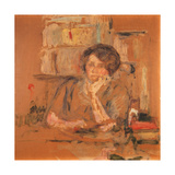 Portrait of Jacqueline Fontaine (Early Version), 1911 Reproduction procédé giclée par Edouard Vuillard