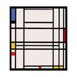 Composition No.10, 1939-42 Giclée-vedos tekijänä Piet Mondrian