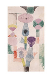 Thistle Bloom; Distelblute, 1918 Giclée-tryk af Paul Klee