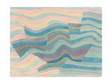 Bewegung an Der Steilkuste, 1929 Giclee-trykk av Paul Klee