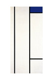 Vertical Composition with Blue and White, 1936 Giclée-vedos tekijänä Piet Mondrian