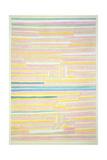 Ort Am Kanal Giclee-trykk av Paul Klee