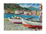 Rapallo, Boats, 1905 Giclée-vedos tekijänä Wassily Kandinsky