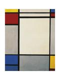 Composition, 1931 Reproduction procédé giclée par Piet Mondrian