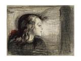 The Sick Girl; Das Kranke Madchen, 1896 Giclée-vedos tekijänä Edvard Munch