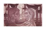 Attraction II, 1896 Giclee-trykk av Edvard Munch